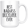 Best Badass Bricklayer Ever Mug
