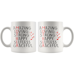 Amazing Loving Strong Happy Mug