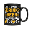 Beer and Dog