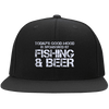 Fishing And Beer  Sport-Tek Flat Bill High-Profile Snapback Hat