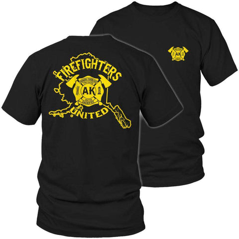 Image of Alaska Firefighters United T Shirt