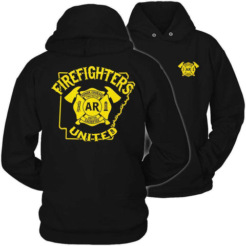 Image of Arkansas Firefighters United T Shirt