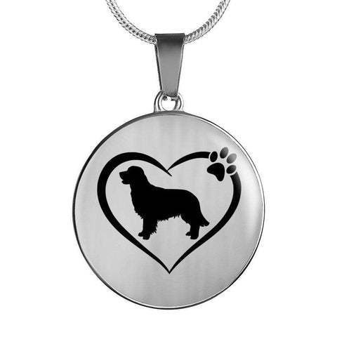 Image of I Love My Golden Retriever Necklace