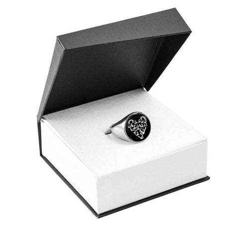 Yoga Heart Signet Ring