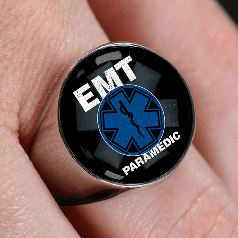 Image of EMT Paramedic Signet Ring