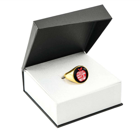 Teacher Signet Ring