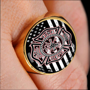 Firefighters Signet Ring