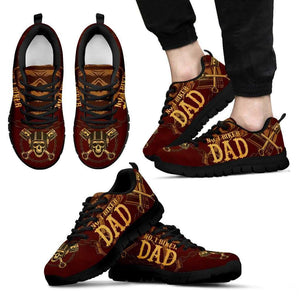 Awesome Biker Dad Sneakers