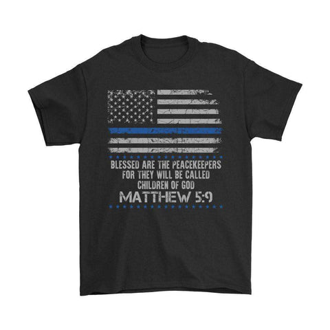 Image of Blessed Are The Peacekeepers Children Of God T Shirt