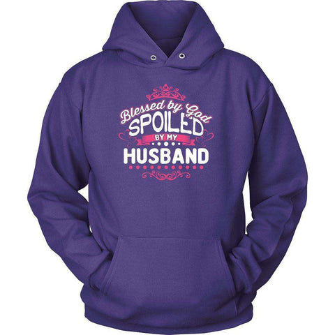 Blessed By God Spoiled By My Husband T Shirt