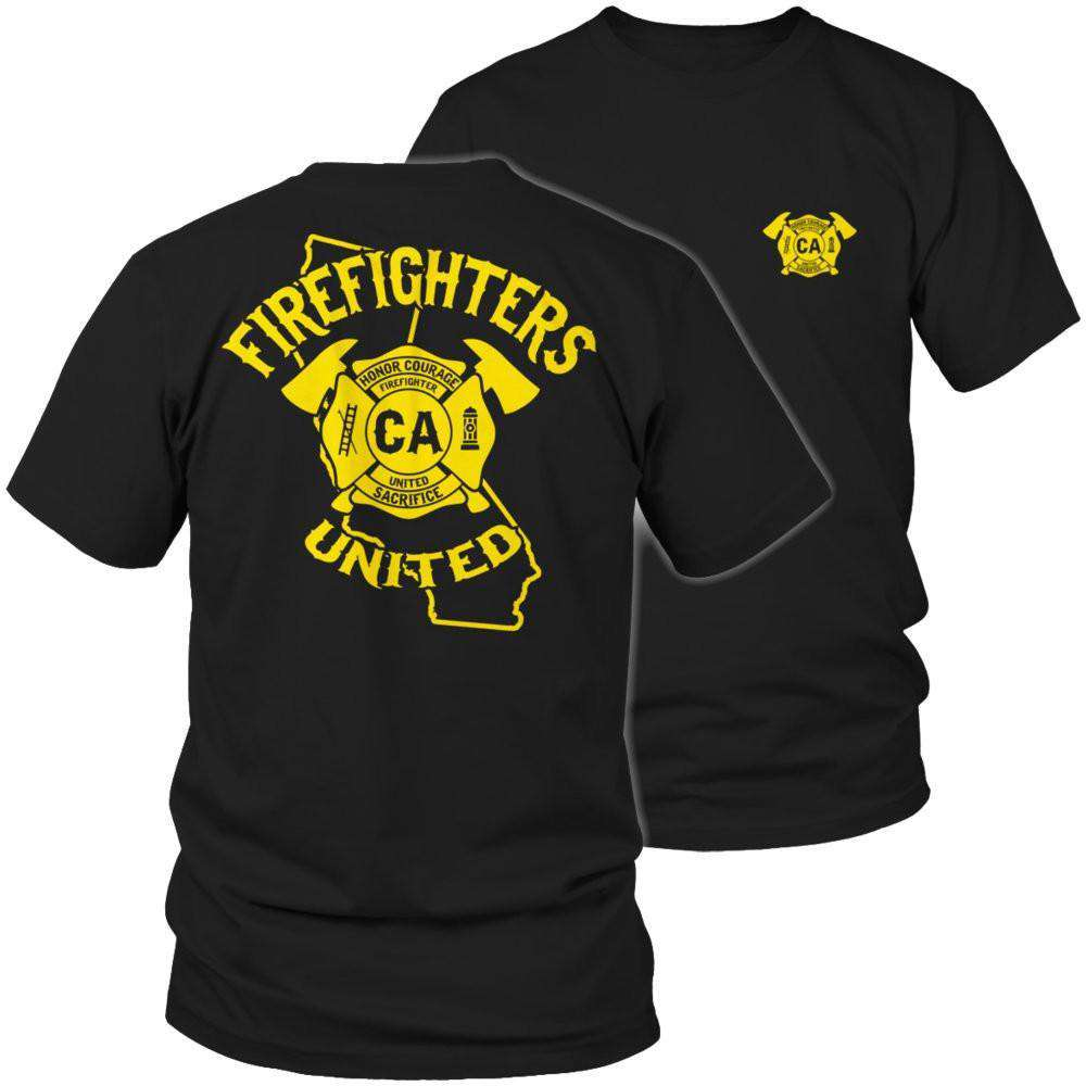 California Firefighters United T Shirt