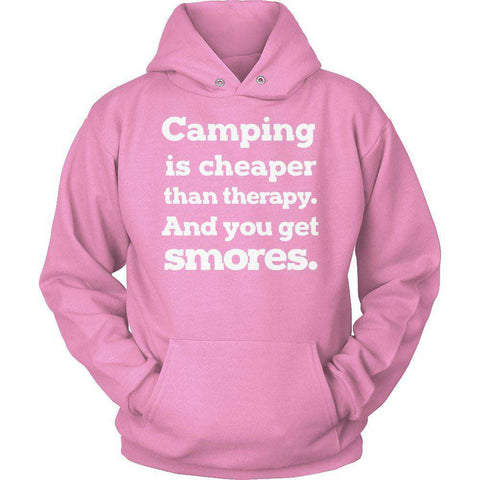 Image of Camping Is Cheaper Than Therapy T Shirt