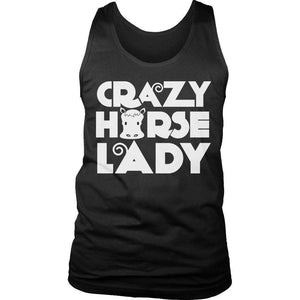 Crazy Horse Lady T Shirt