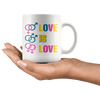 Love Is Love LGBTQ 11oz Coffee Mug