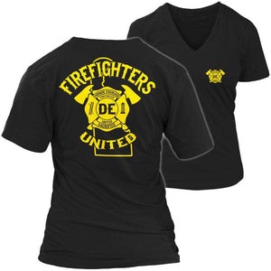 Delaware Firefighters United T Shirt