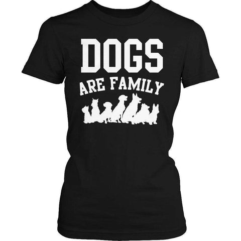 Image of Dogs are Family T Shirt