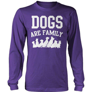 Dogs are Family T Shirt