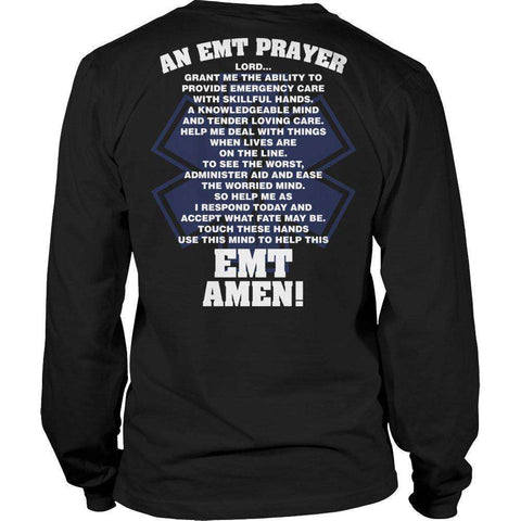 Image of EMT Prayer T Shirt