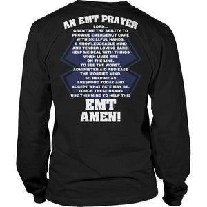 EMT Prayer T Shirt