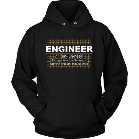 Image of Engineer Thrives On Caffeine T Shirt