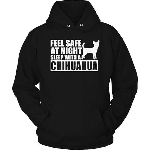 Image of Feel safe at night sleep with a Chihuahua T Shirt
