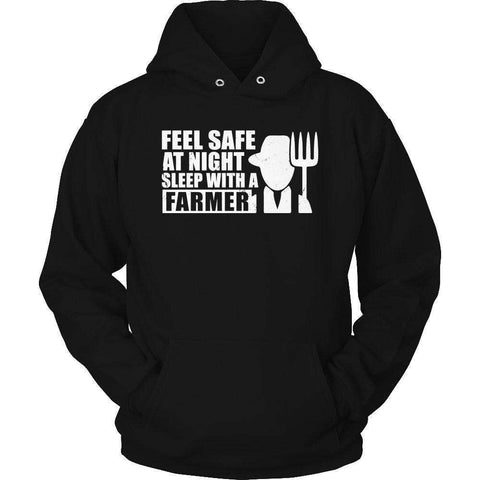 Image of Feel safe at night sleep with a farmer T Shirt