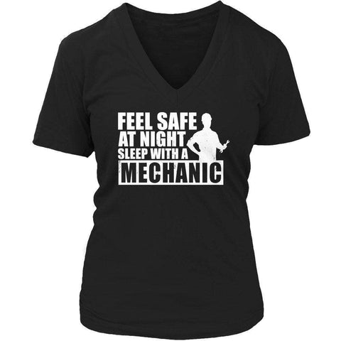 Feel safe at night sleep with a Mechanic T Shirt