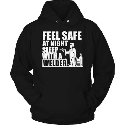 Image of Feel safe at night sleep with a Welder T Shirt