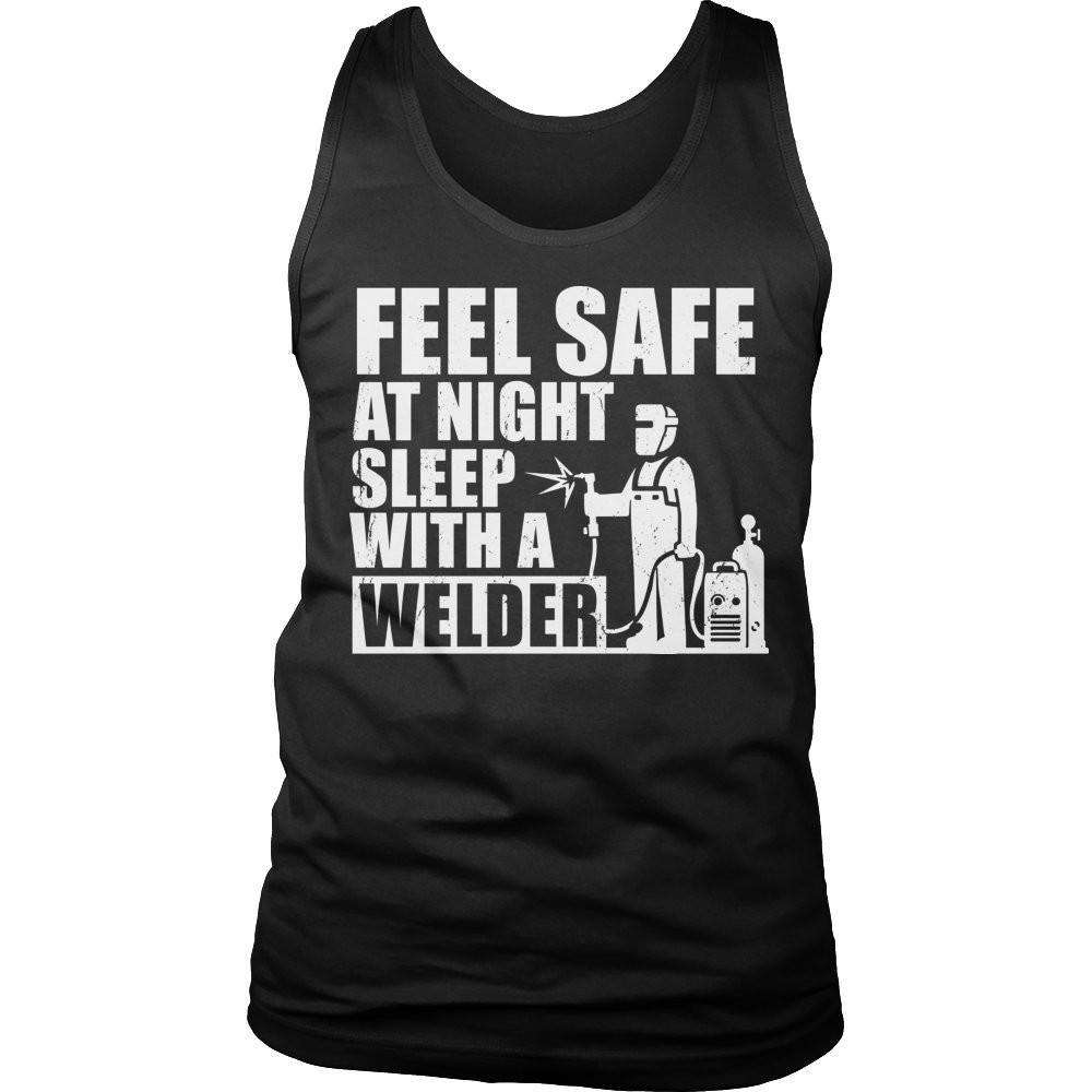 Feel safe at night sleep with a Welder T Shirt