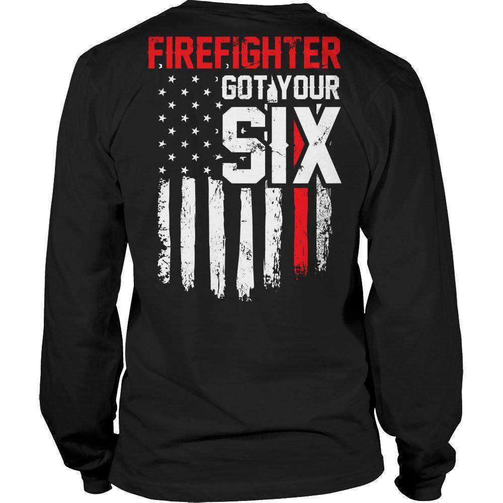 FireFighter Got Your Six T Shirt