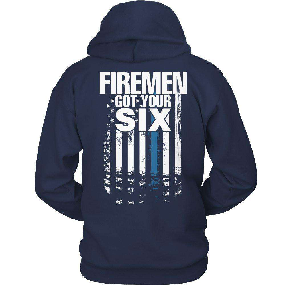 Firemen Got Your Six T Shirt