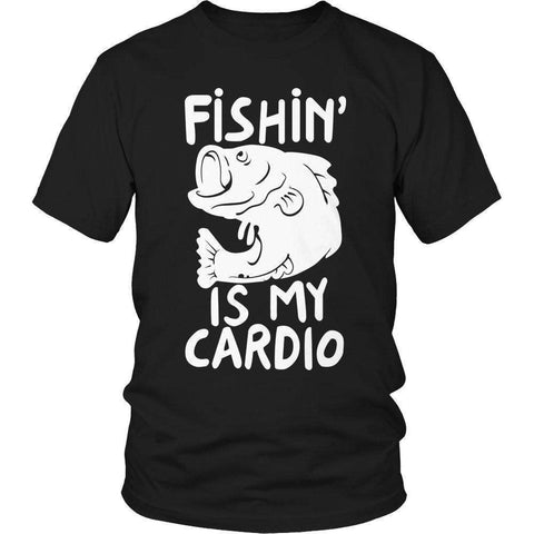 Image of Fishing Is My Cardio T Shirt
