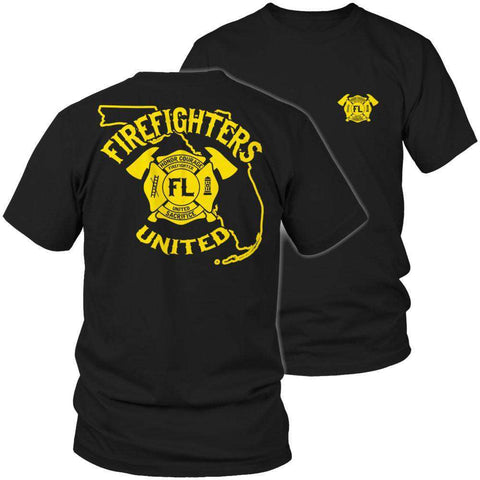 Image of Florida Firefighters United T Shirt