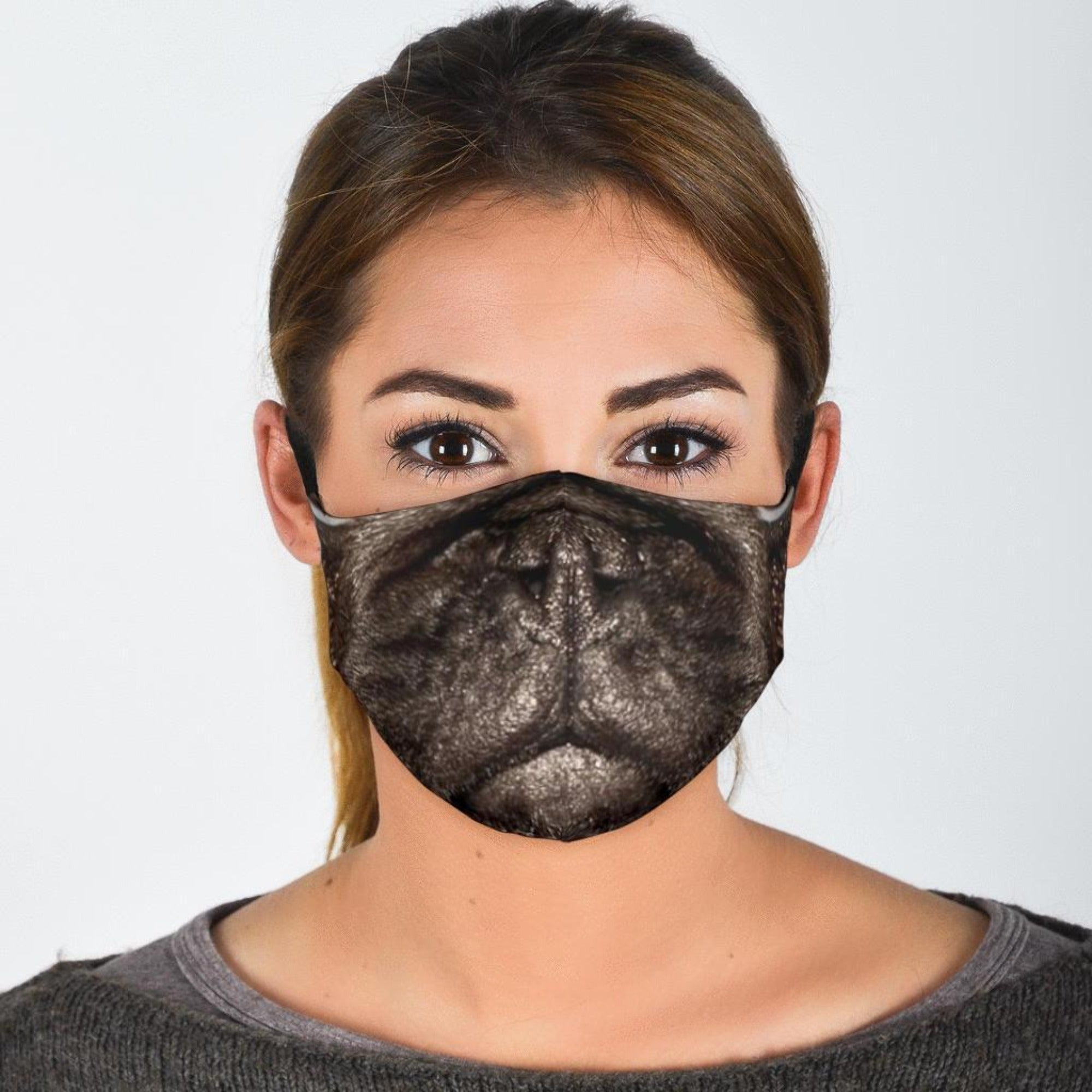 Pug Face Masks With Filters