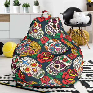Sugar Skull Bean Bag Chair