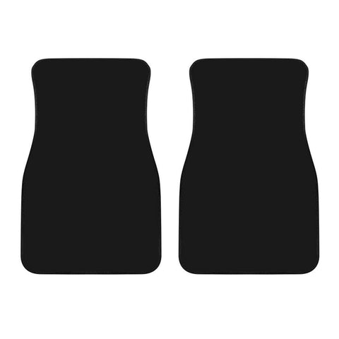 Black Front Car Mats (Set Of 2)