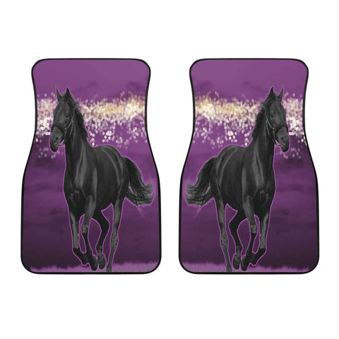 Horse Pink Front Car Mats Set of Two