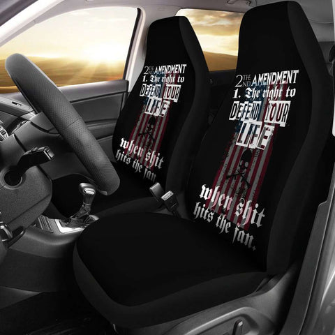 Image of 2nd Amendment Car Seat Covers