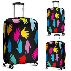 Autism Hands Luggage Covers