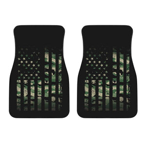 Army Flag Front Car Mats