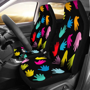 Autism Hands Car Seat Covers