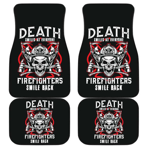 Image of Firefighter Front And Back Car Mats Set Of 4