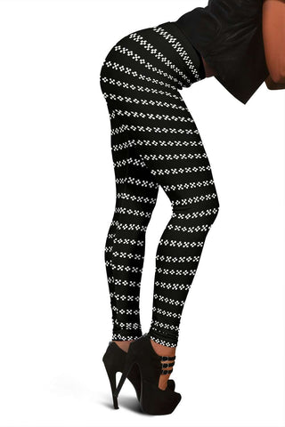 Black Hole Pixels From Another Dimension Leggings