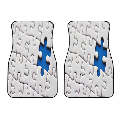 Autism Awareness Front Car Mats