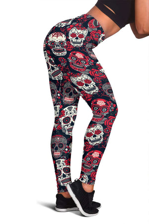 Skull Lovers Fitness Leggings