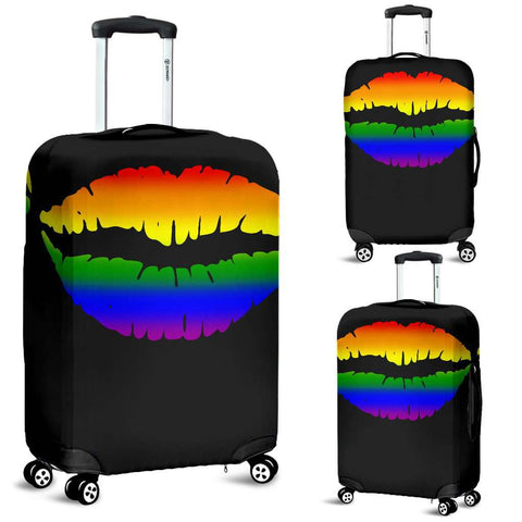 LGBT Pride Lovers Lips Luggage Covers
