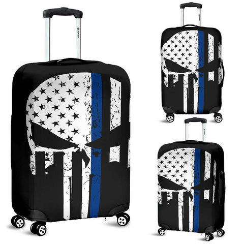 Punisher Skull Police Luggage Covers