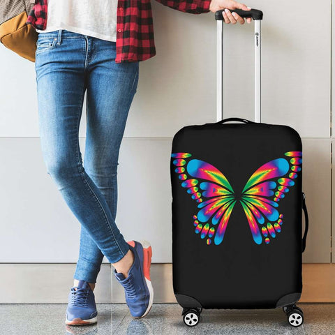 Autism Awareness Butterfly Luggage Covers