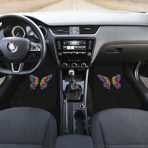 Autism Awareness Butterfly Front Car Mats