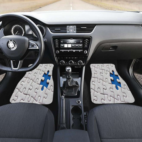 Image of Autism Awareness Front Car Mats